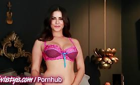 Masturbation in sexy lingerie