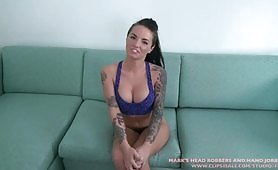 All about blowjob you do Christy Mack