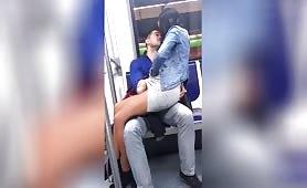 Italian voyeur on the subway