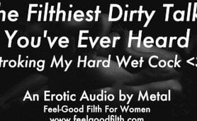 An amazing audio recording of a man jerking off while dirty talking